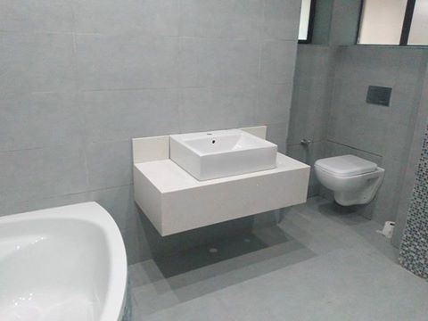 Bathroom Cabinets Kzn clean look for your bathroom - allstone solutions | granite kzn