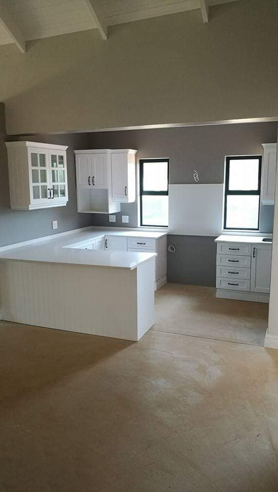 Beautiful Midlands Kitchen done in the Midlands. Cabinetry done by Attie.